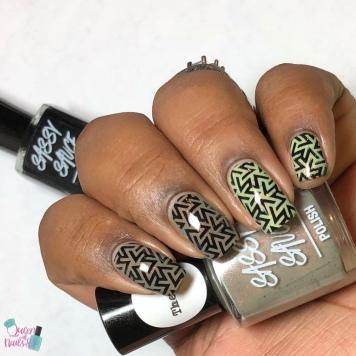 Mocha Mintini - w/ nail art
