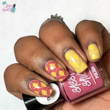 Razberry Lemonade (T) - w/ nail art