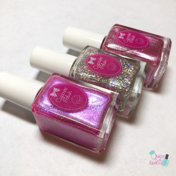 Moore Swatches: Cupcake Polish – Limited Edition 5th Anniversary Trio & Celebration Sale