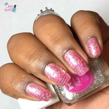 Diamond - w/ nail art