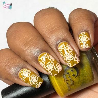 She Seems More Intense - w/ nail art