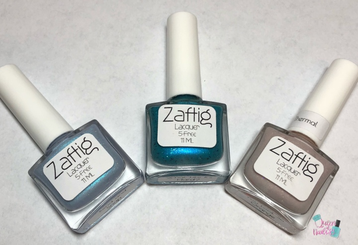 Moore Swatches: Zaftig Lacquer – Blonde Ambition Trio