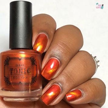 Tonic Nail Polish - Saharan (M) - w/ glossy tc