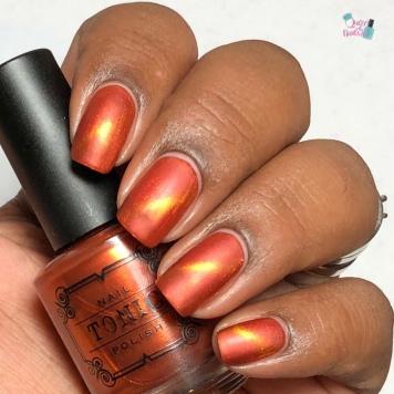 Tonic Nail Polish - Saharan (M) - w/ matte tc