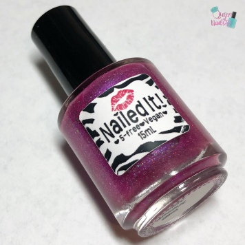 Nailed It Nail Polish - Berry Angelic - bottle shot
