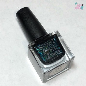 Night Owl Lacquer - Monster is a Relative Term - bottle shot