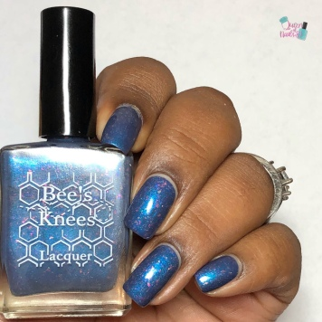 Bee's Knees Lacquer's - Clever Girl - w/ glossy tc