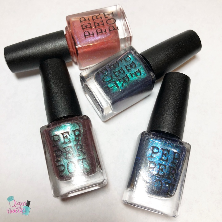 Moore Swatches: Pepper Pot Polish – Rebel Girls Quad