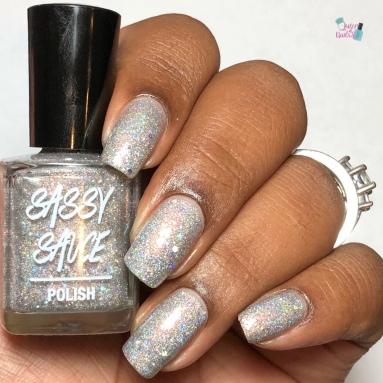 Shiny Disco Ball - w/ glossy tc