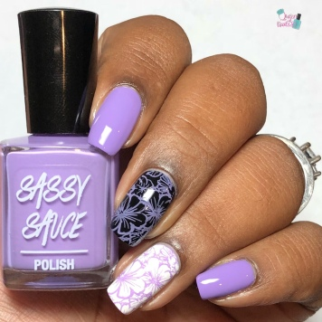 Lilac Stamping Sauce - w/ glossy tc