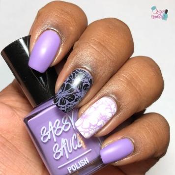 Lilac Stamping Sauce - w/ matte tc
