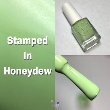 Stamped in Honeydew