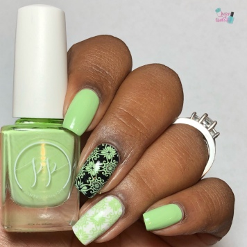 Stamped in Honeydew - w/ glossy tc