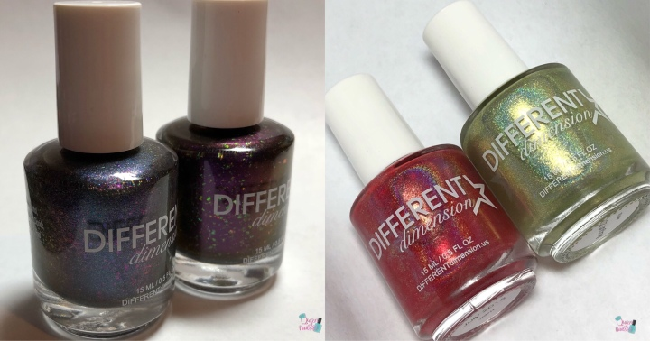 Moore Swatches: Different Dimensions – 6th Anniversary Duo and July & Aug 2018 POTM