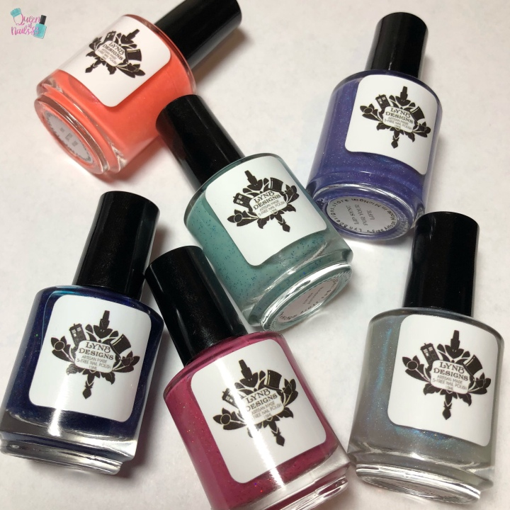 Moore Swatches: LynB Designs – The Shade of It All Collection