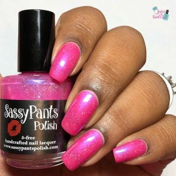 Sassy Pants Polish - Hogs n' Kisses - w/ glossy tc