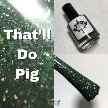 LynB Designs - That'll Do Pig