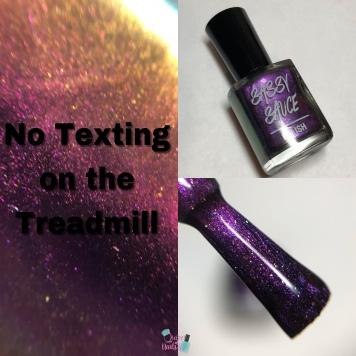 No Texting on the Treadmill