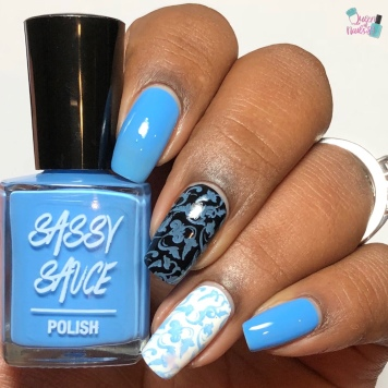 Sky Stamping Sauce - w/ glossy tc