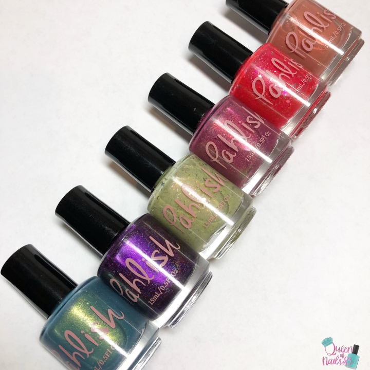 Moore Swatches: Pahlish – Ciao Bella! Collection