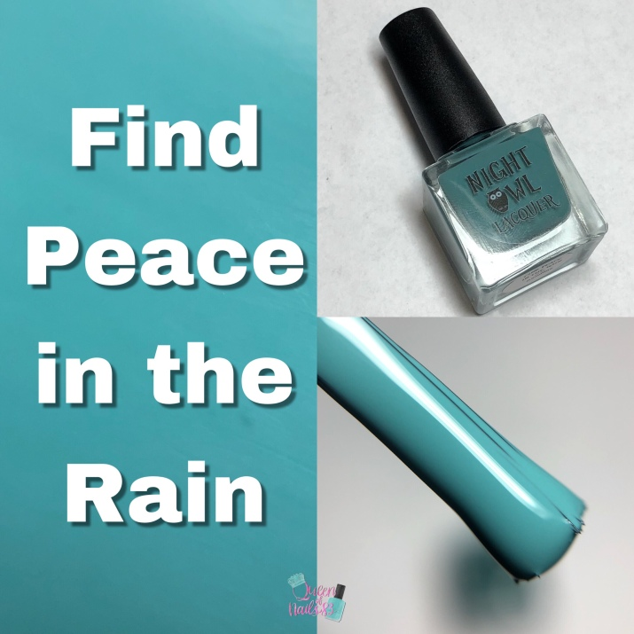 Find Peace In The Rain
