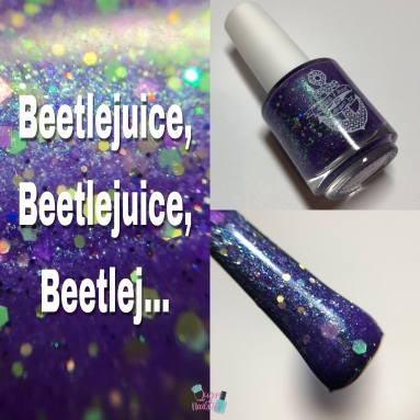 Anchor & Heart Lacquer - Beetlejuice, Beetlejuice, Beetlej...
