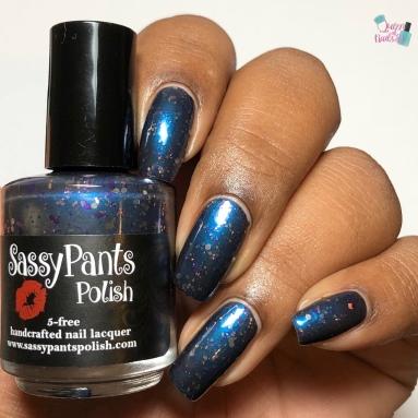 Sassy Pants Polish - Moonlit Stargazers - w/ glossy tc