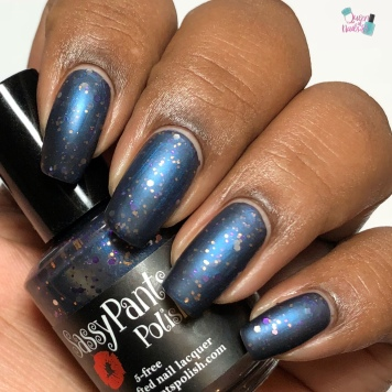 Sassy Pants Polish - Moonlit Stargazers - w/ matte tc