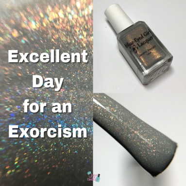 Blue-Eyed Girl Lacquer - Excellent Day for an Exorcism