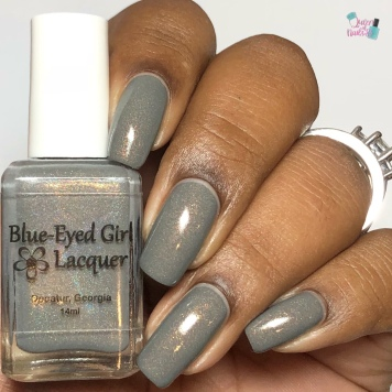 Blue-Eyed Girl Lacquer - Excellent Day for an Exorcism - w/ glossy tc