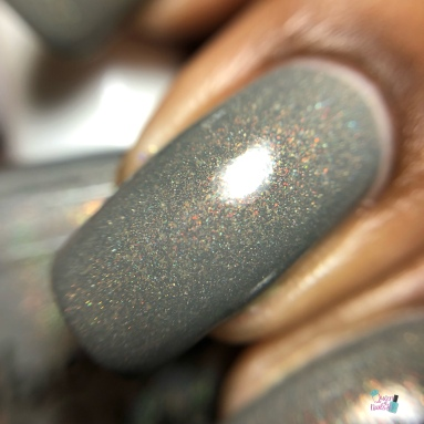 Blue-Eyed Girl Lacquer - Excellent Day for an Exorcism - macro