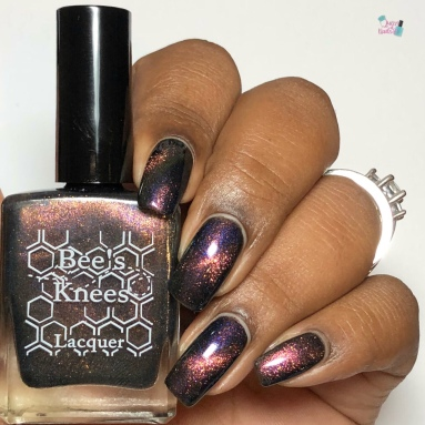 Bee's Knees Lacquer - Valak (M) - w/ glossy tc
