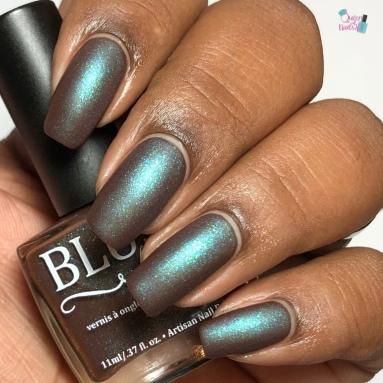 Blush Lacquers - Life Finds A Way - w/ matte tc