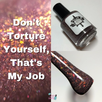 LynB Designs - Don't Torture Yourself, That's My Job