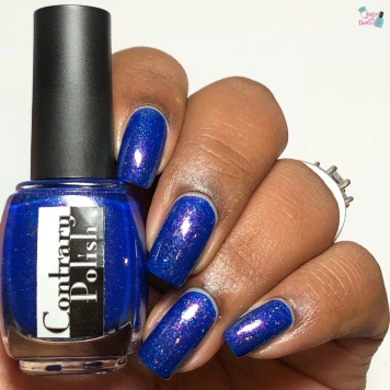 Contrary Polish - If You Play With Fire... - w/ glossy tc