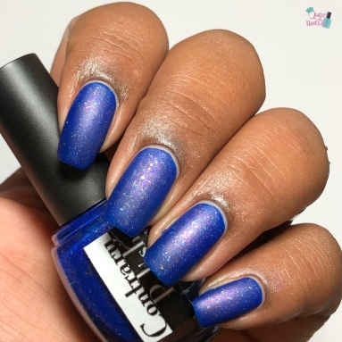 Contrary Polish - If You Play With Fire... - w/ matte tc