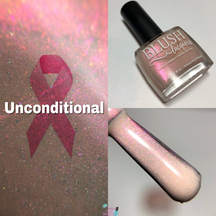 Moore Swatches: Blush Lacquers – The Hope Box: Annual Breast Cancer Awareness BoxContribution