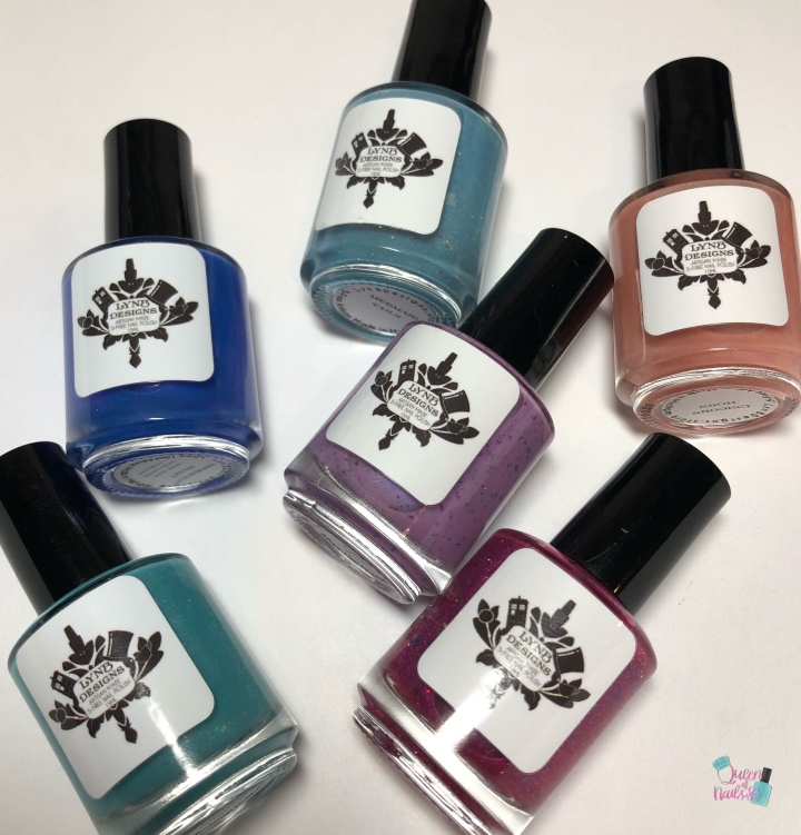 Moore Swatches: LynB Designs – LynB Loves Facebook Fan Group Customs Quad and Halloween Trio