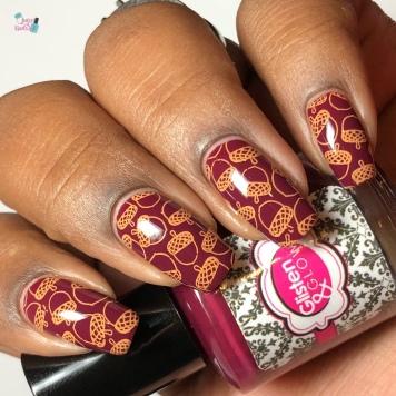 Mother Fire - w/ nail art
