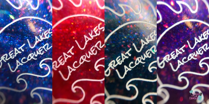 Moore Swatches: Great Lakes Lacquer – Glass Resurrected Collection