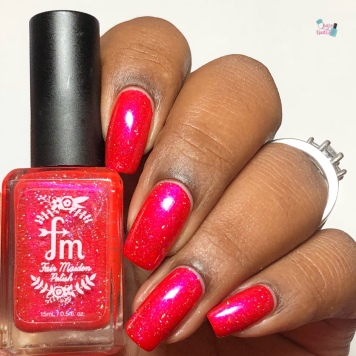 Fair Maiden Polish - Lady Slipper (VIP) - w/ glossy tc