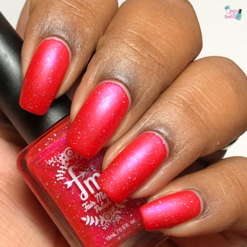 Fair Maiden Polish - Lady Slipper (VIP) - w/ matte tc