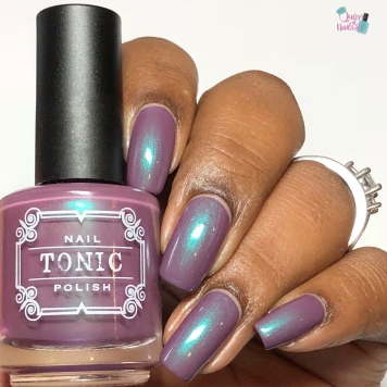 Tonic Polish - First Kiss (VIP)- w/ glossy tc