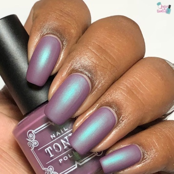 Tonic Polish - First Kiss (VIP)- w/ matte tc