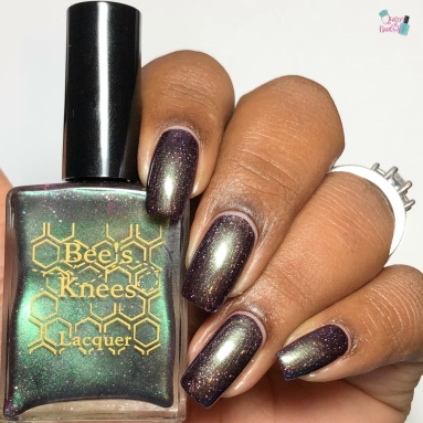 Bees Knees Lacquer - Squatchin Around (VIP) - w/ glossy tc