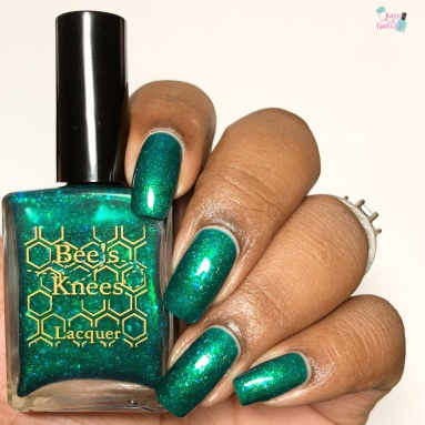 Bees Knees Lacquer - Peppie (LE) - w/ glossy tc