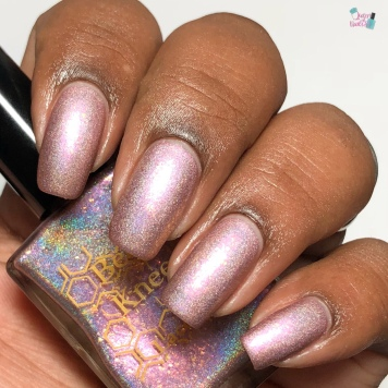 Bees Knees Lacquer - The Soap Factory (LE) - w/ matte tc