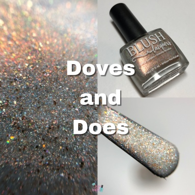 Blush Lacquers - Doves and Does (GWP)