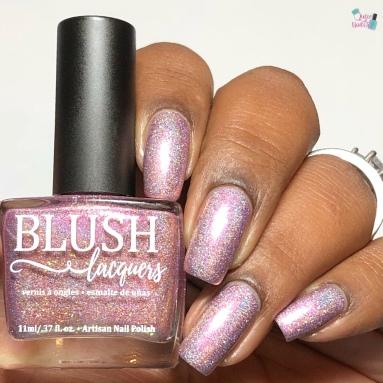 Blush Lacquers - Thistle Bouquet (LE) - w/ glossy tc