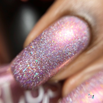 Blush Lacquers - Thistle Bouquet (LE) - macro